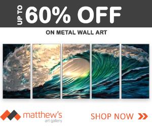 Metal Wall Art on sale