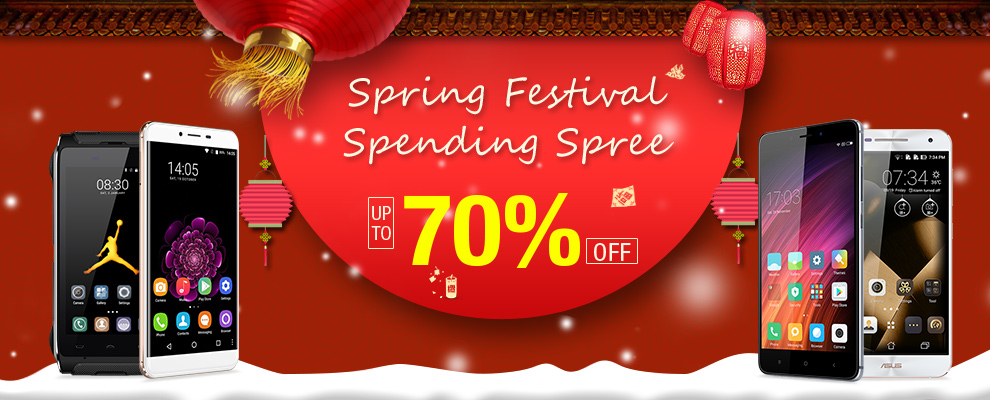 Spring Festival Spending Spree Up to 70% Off