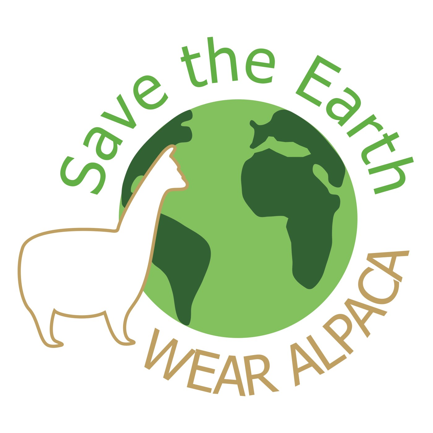 save the planet, wear alpaca!