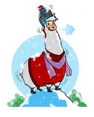 dress stylishly warm in alpaca