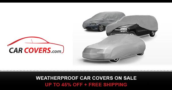 Weatherproof Car Covers On Sale