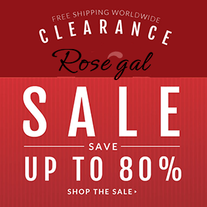 Clearance sale! Enjoy up to 80% off sitewide at rosegal.com. Shop now!