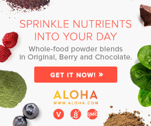 New premium protein powder by ALOHA, the cleanest, purest real food, whole-food plant-based protein on the market! Try it for free today!