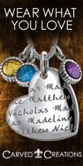 Your Children's Names & Birthstones