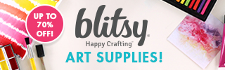 Up to 70% off Art Supplies!