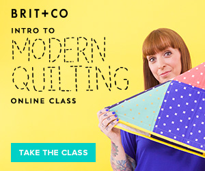 Modern Quilting Classes