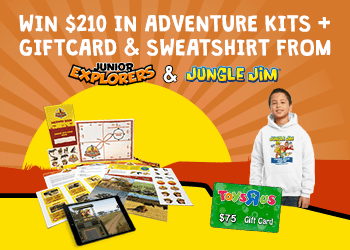 Enter to win the wildest gifts for kids ($210 value)!