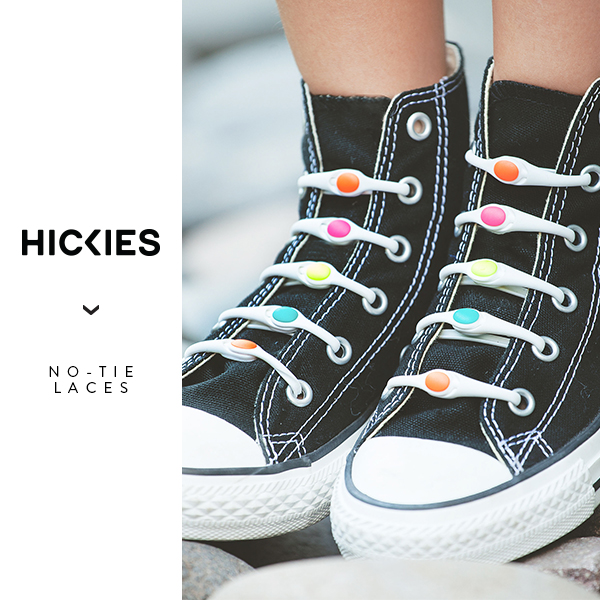 Hickies - No Tie Elastic Shoelaces