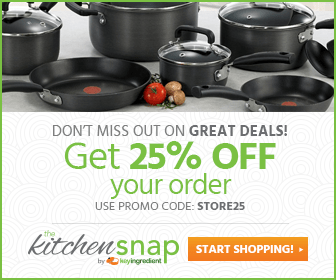 Save 25% storewide at KitchenSnap