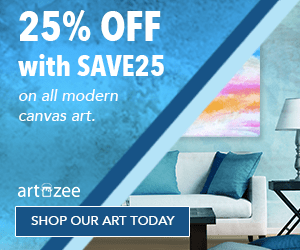 Save 25% on all canvas art with SAVE25 at checkout.