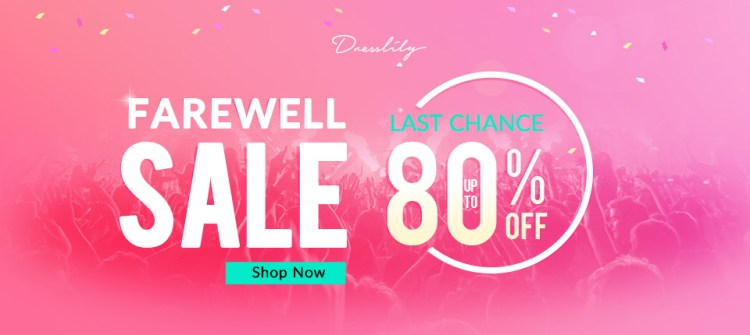 Women's Day Farewell Sale, Up To 80% OFF, Don't Miss Out The Last Chance!