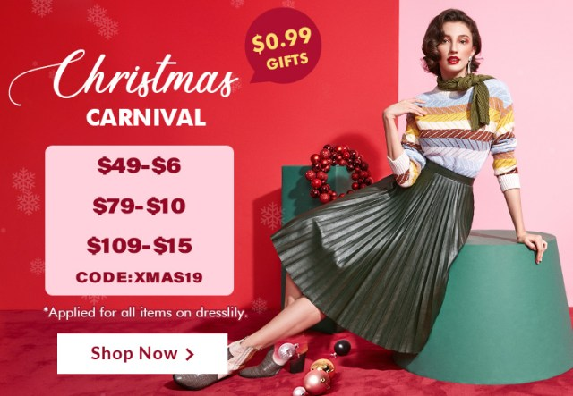 Xmas Carnival Dresslily 2019