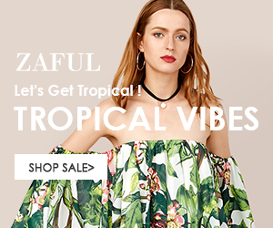 Enjoy Up to 50% OFF for Tropical Vibes Sale at Zaf