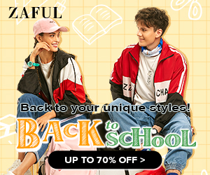 ZAFUL 2021 Back to School Picks, up to 70% off