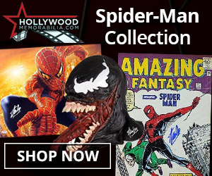 Shop for Authentic Autographed Spider-Man Collectibles at HollywoodMemorabilia.com