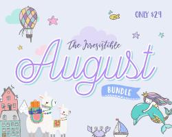 SALE!!! Get 20% OFF The Irresistible August Bundle