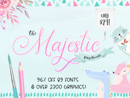 SALE!!! 96% OFF Get The Majestic May Bundle for only $29!!