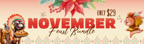Get 20% OFF The November Feast Bundle