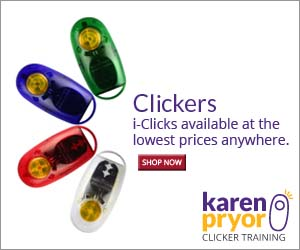 KPCT carries authentic i-Clicks, designed by Karen Pryor, and classic box clickers, both available in bulk or customized at the lowest prices anywhere.
