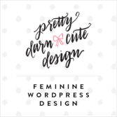 Feminine WordPress Design