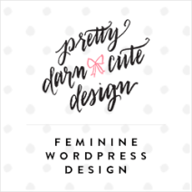 Feminine WordPress Design