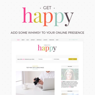 feminine WordPress themes