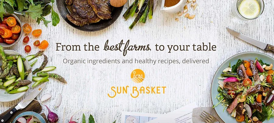 Sun Basket 50% off Coupon