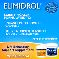 Elimidrol for Mood Enhancement and Intermittent Anxiety Relief