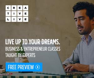 CreativeLive, Business, entrepreneurship, lessons, courses, tutorials