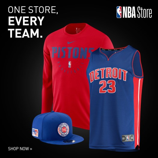 Shop for official Detroit Pistons team gear and authentic collectibles at NBAStore.com