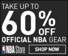 Free US Shipping on all Orders at NBAStore.com through 2/13