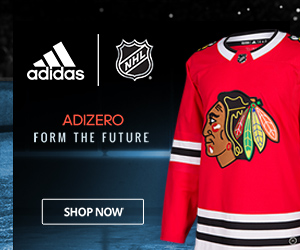 Represent Chicago in your new Blackhawks Adizero Authentic Pro Jersey from adidas