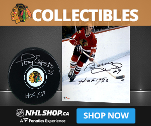 Shop for Chicago Blackhawks Collectibles and Memorabilia at NHLShop.ca