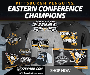 Shop for 2017 Pittsburgh Penguins Eastern Conference Champs Fan Gear