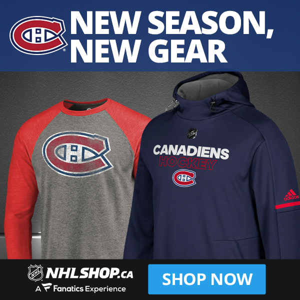 Shop for Habs fan gear at NHLShop.ca