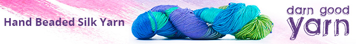 Hand Beaded Silk Yarn - 7 Pack