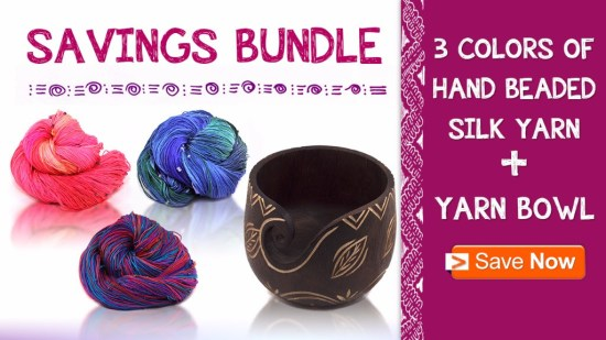 Saving Bundle - Hand Bended Silk Yarn