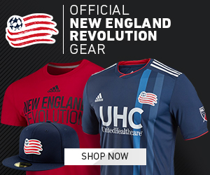 Official New England Revolution Gear Available at MLSStore.com