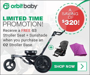 FREE Stroller Seat and Sun Shade with Purchase of Stroller Base