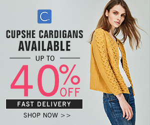 Cupshe Cardigans Available! Up to 40% Off! Fast Delivery! Shop Now!