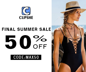 Final Summer Sale! 50% OFF Code:Max50 ! Choose what you like!