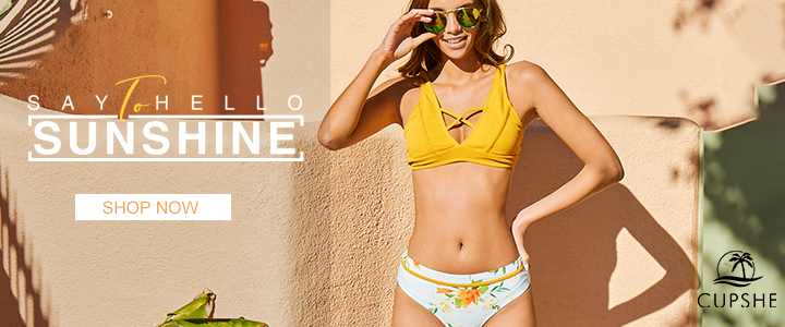 The Forecast: Sunny Skies. Cute Swim.! Shop Now!