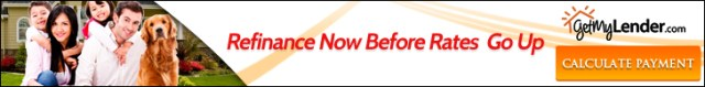 Refinance now before rates go up! Get multiple rate quotes at GetMyLender.com.