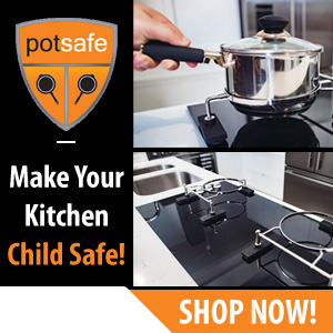 Potsafe's patented design ensures that the pots can freely rotate, lift and lower. The unique design restricts the pot from twisting or sliding which prevents accidental tipping or spilling of the pot contents. Shop Now!