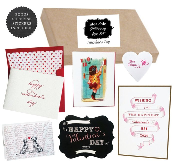 Love notes, stationery and gifts for Valentine's Day and every day