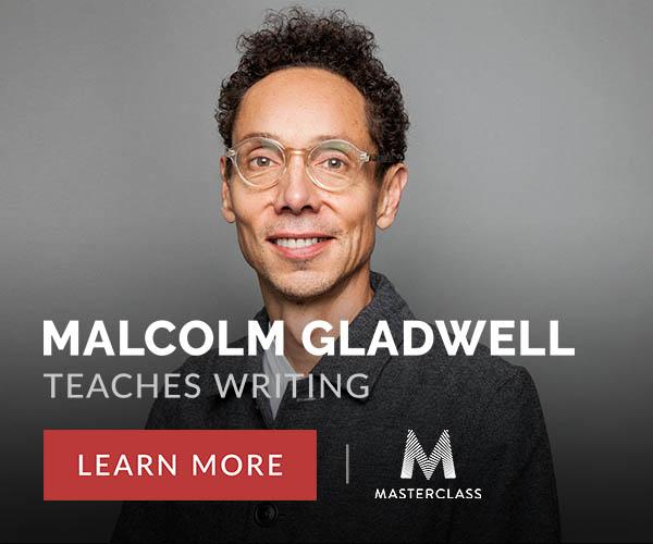 Malcolm Gladwell Teaches Writing