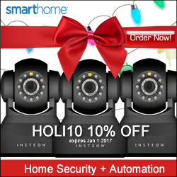 10% OFF Security Cameras Coupon Happy Holidays