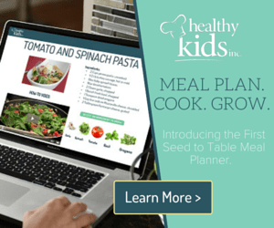 Healthy Kids Inc Meal Planner