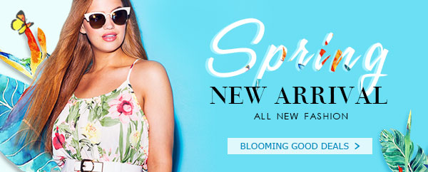 Spring New Arrivals