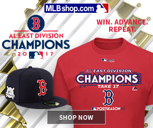 Boston Red Sox 2017 Postseason Gear